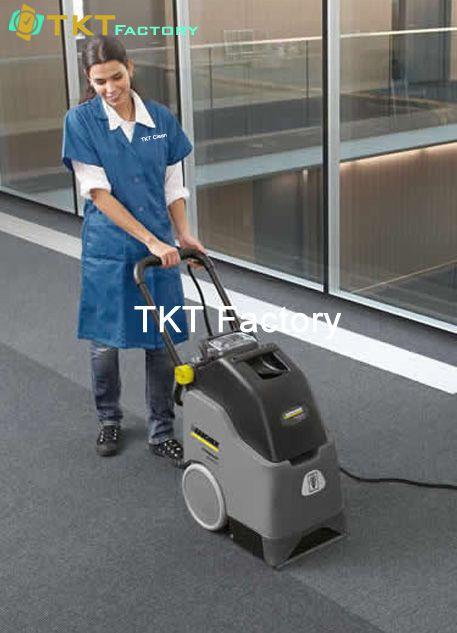 dịch vụ vệ sinh thảm văn phòng trong nhà máy TKT Factory