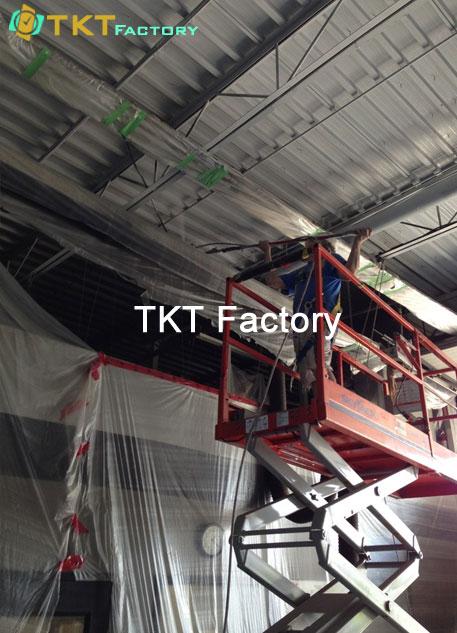 tổng vệ sinh định kỳ nhà xưởng TKT Factory