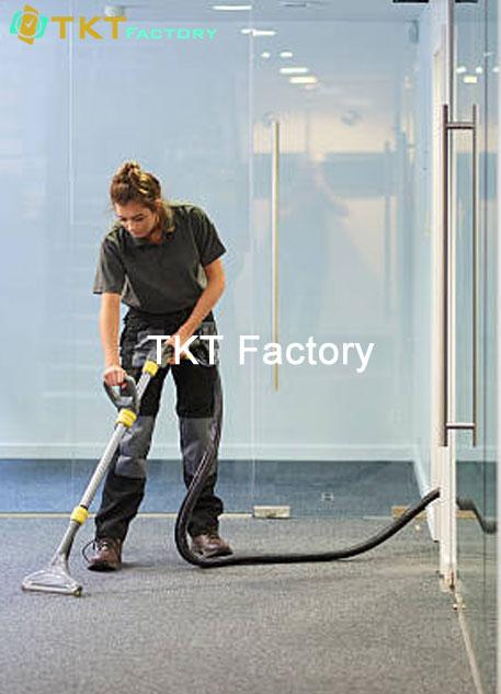 tổng vệ sinh văn phòng nhà xưởng TKT Factory