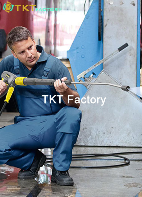 tổn vệ sinh nhà xưởng thiết bị TKT Factory