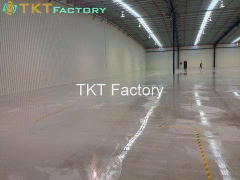 các phương pháp vệ sinh sàn nhà xưởng phổ biến - TKT Factory