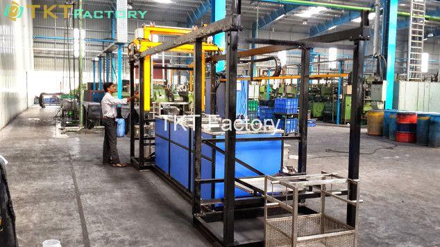 phương pháp vệ sinh sàn nhà xưởng sử dụng hóa chất tẩy dầu mỡ