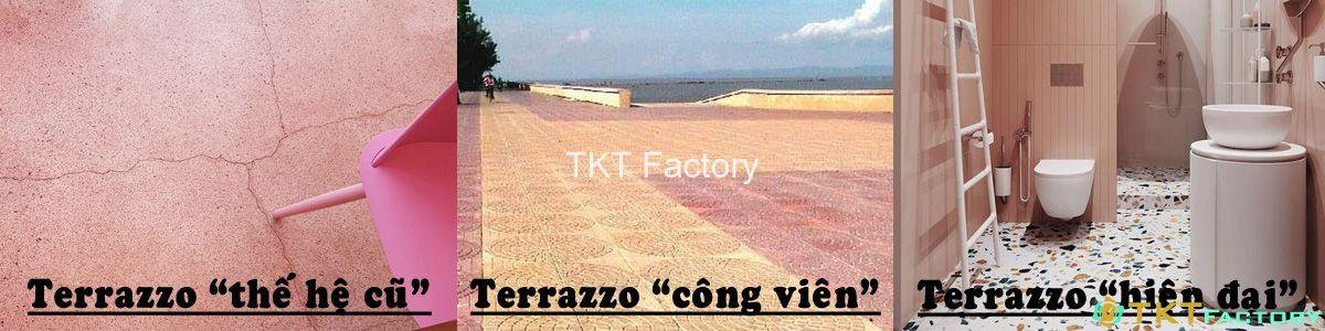 so sánh các loại gạch đá terrazzo giá rẻ - nghệ thuật hiện đại