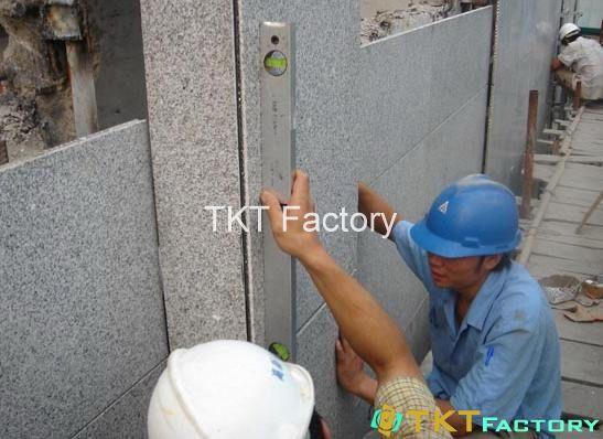 thi công ốp lát tường đá Terrazzo