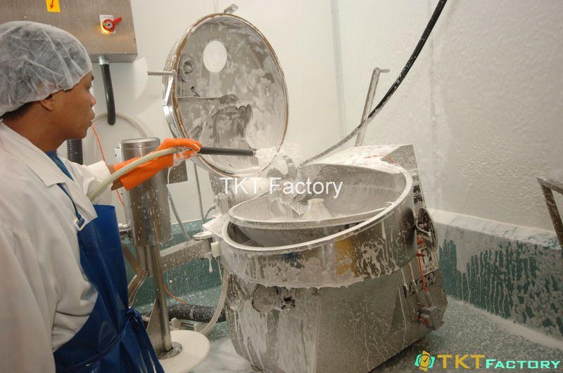 vệ sinh đạt chuẩn thiết bị chế biến