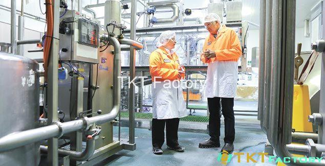 xây dựng quy trình vệ sinh nhà máy sản xuất thực phẩm rất quan trọng