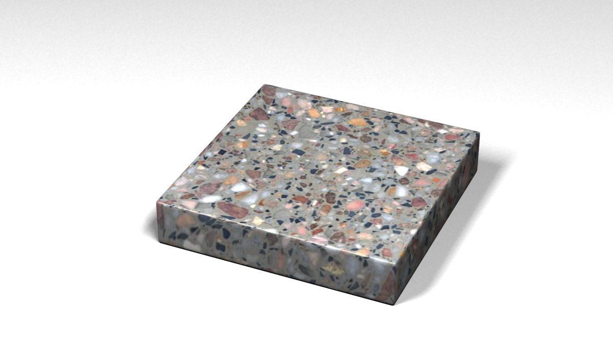 Mẫu đá Terrazzo trong Bộ Sưu Tập Terrazzo Cổ Điển Mẫu BST-Classical-Collection-TKTF-130