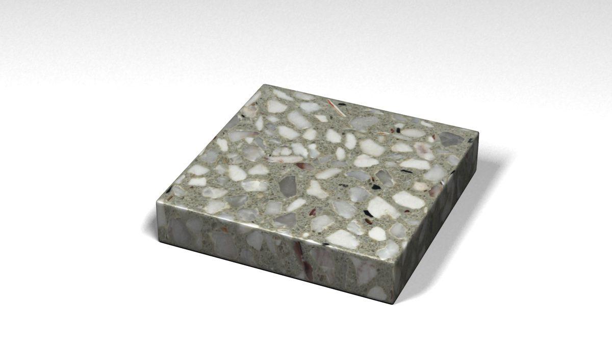 Mẫu đá Terrazzo trong Bộ Sưu Tập Terrazzo Cổ Điển Mẫu BST-Classical-Collection-TKTF-158