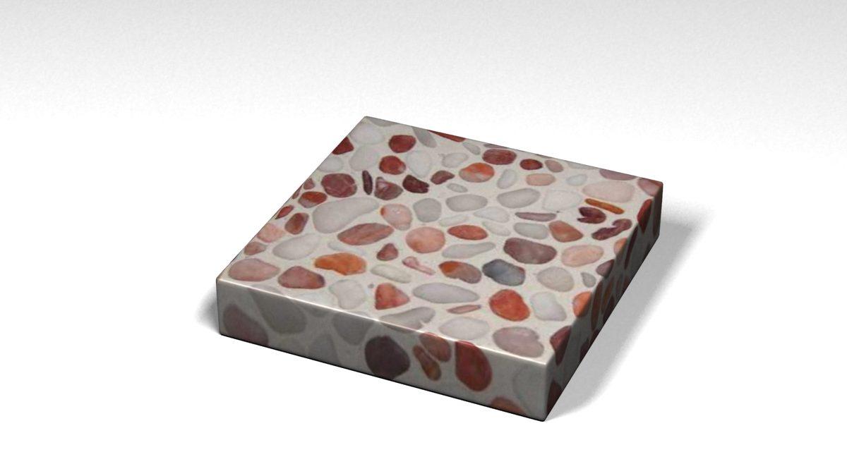 Mẫu đá Terrazzo trong Bộ Sưu Tập Terrazzo Đa Màu Sắc Mẫu BST-Colorful-Collection-TKTF-100
