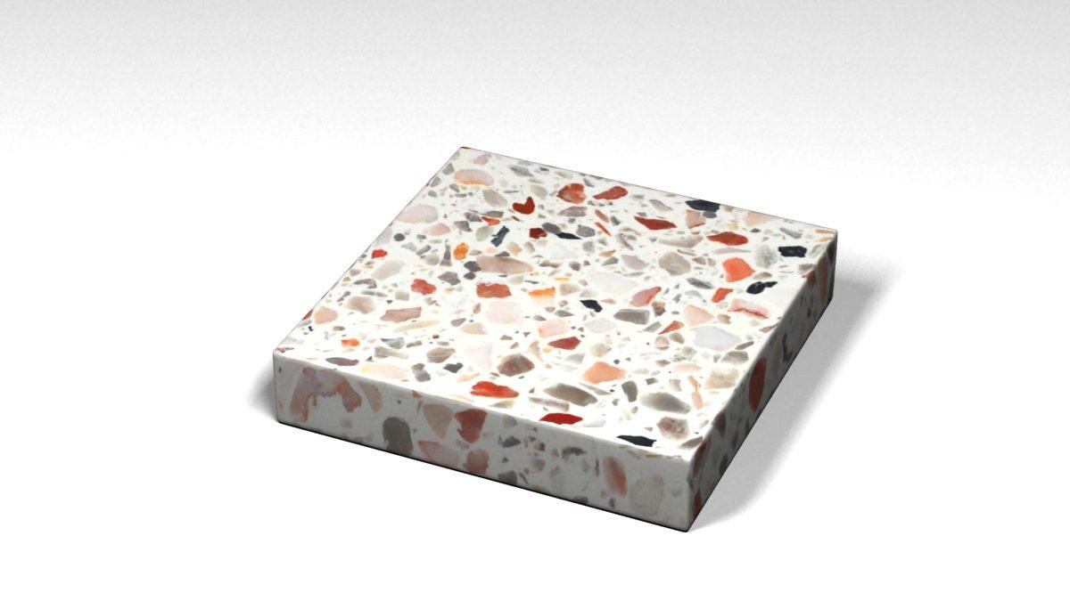 Mẫu đá Terrazzo trong Bộ Sưu Tập Terrazzo Đa Màu Sắc Mẫu BST-Colorful-Collection-TKTF-103