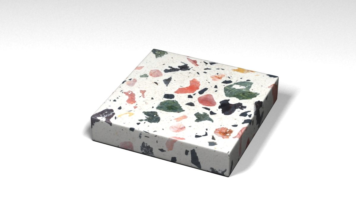 Mẫu đá Terrazzo trong Bộ Sưu Tập Terrazzo Đa Màu Sắc Mẫu BST-Colorful-Collection-TKTF-105
