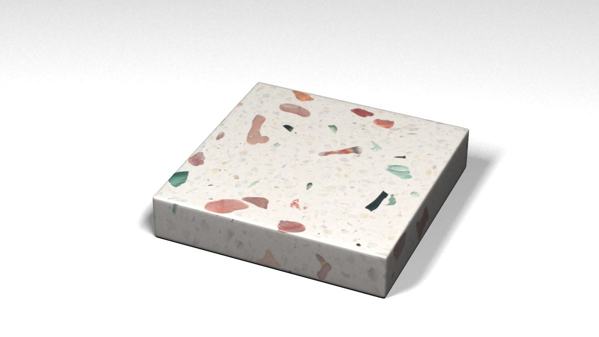 Mẫu đá Terrazzo trong Bộ Sưu Tập Terrazzo Đa Màu Sắc Mẫu BST-Colorful-Collection-TKTF-106
