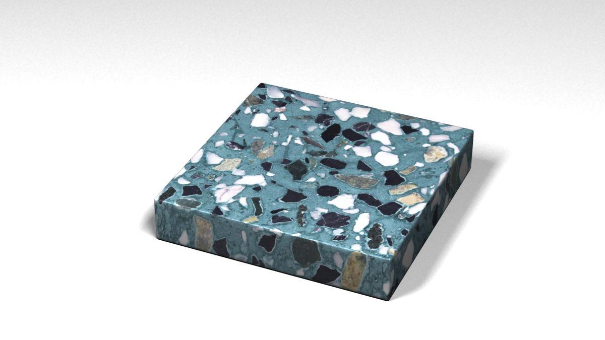 Mẫu đá Terrazzo trong Bộ Sưu Tập Terrazzo Đa Màu Sắc Mẫu BST-Colorful-Collection-TKTF-109