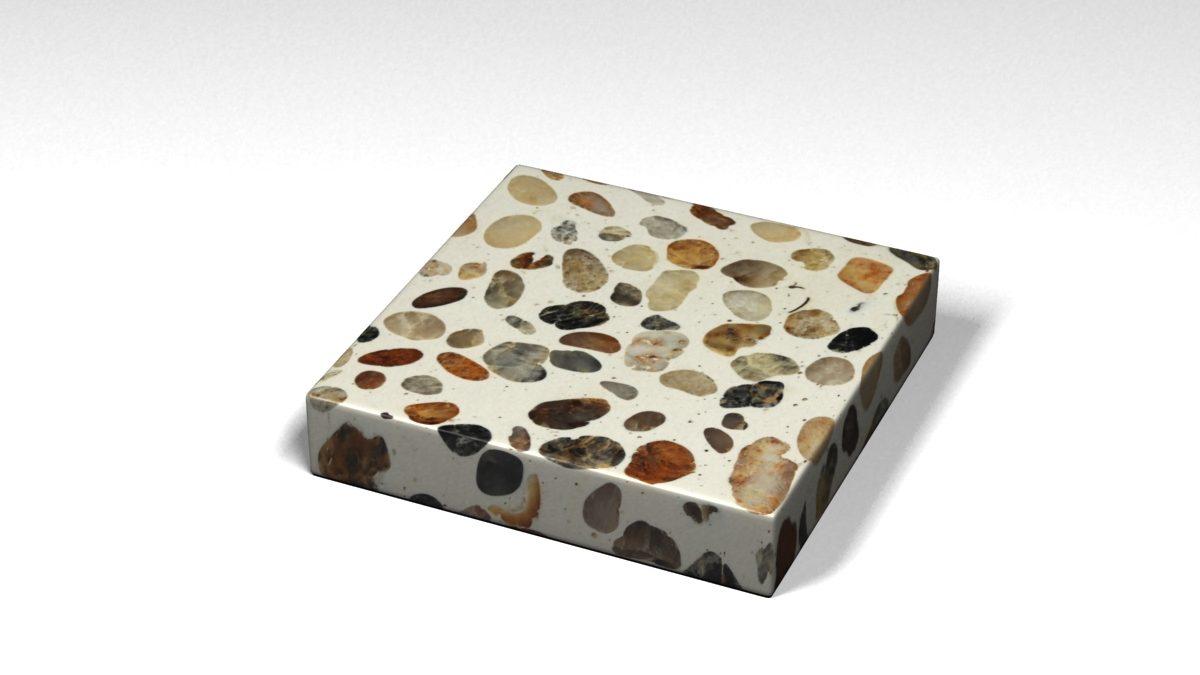 Mẫu đá Terrazzo trong Bộ Sưu Tập Terrazzo Đa Màu Sắc Mẫu BST-Colorful-Collection-TKTF-112