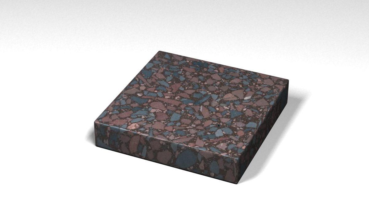 Mẫu đá Terrazzo trong Bộ Sưu Tập Terrazzo Đa Màu Sắc Mẫu BST-Colorful-Collection-TKTF-64