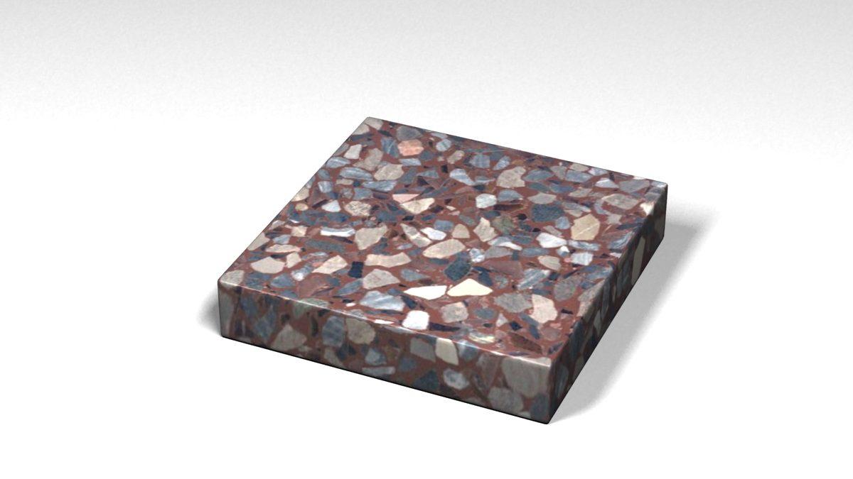 Mẫu đá Terrazzo trong Bộ Sưu Tập Terrazzo Đa Màu Sắc Mẫu BST-Colorful-Collection-TKTF-71