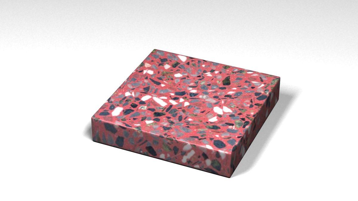 Mẫu đá Terrazzo trong Bộ Sưu Tập Terrazzo Đa Màu Sắc Mẫu BST-Colorful-Collection-TKTF-73