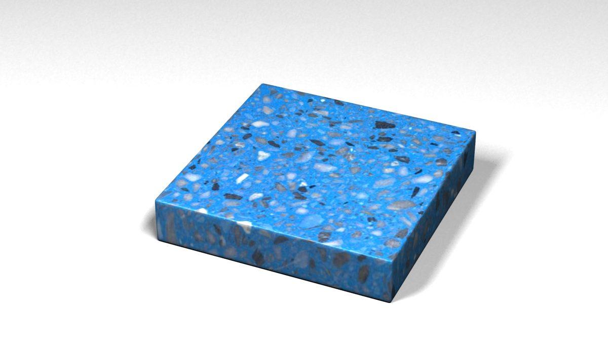 Mẫu đá Terrazzo trong Bộ Sưu Tập Terrazzo Đa Màu Sắc Mẫu BST-Colorful-Collection-TKTF-75