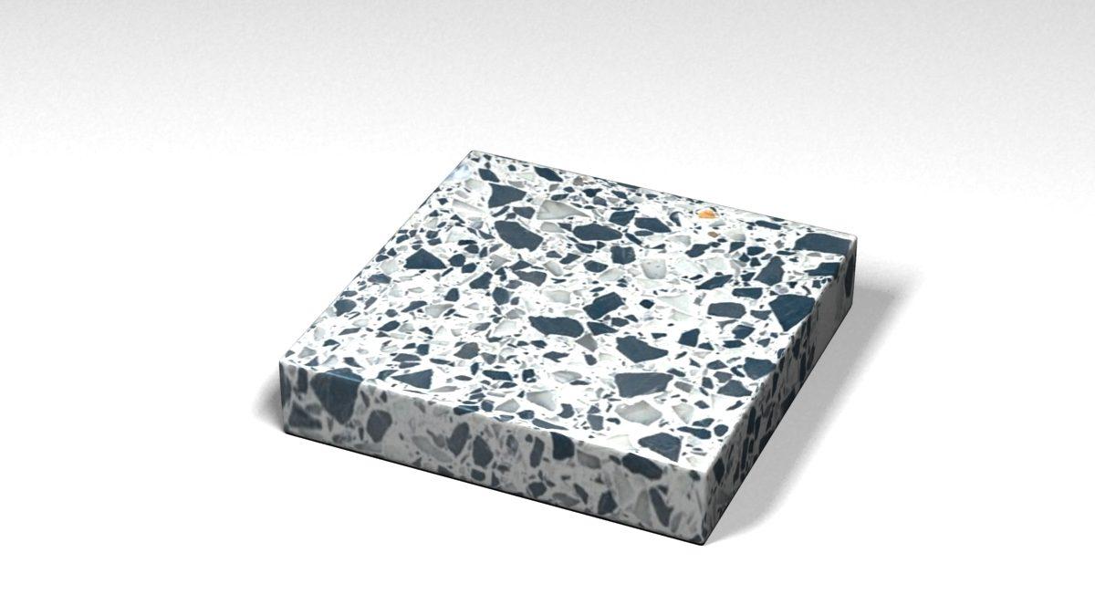 Mẫu đá Terrazzo trong Bộ Sưu Tập Terrazzo Đa Màu Sắc Mẫu BST-Colorful-Collection-TKTF-91