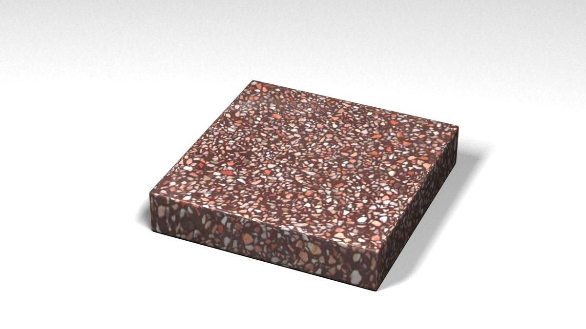 Mẫu đá Terrazzo trong Bộ Sưu Tập Terrazzo Đa Màu Sắc Mẫu BST-Colorful-Collection-TKTF-93