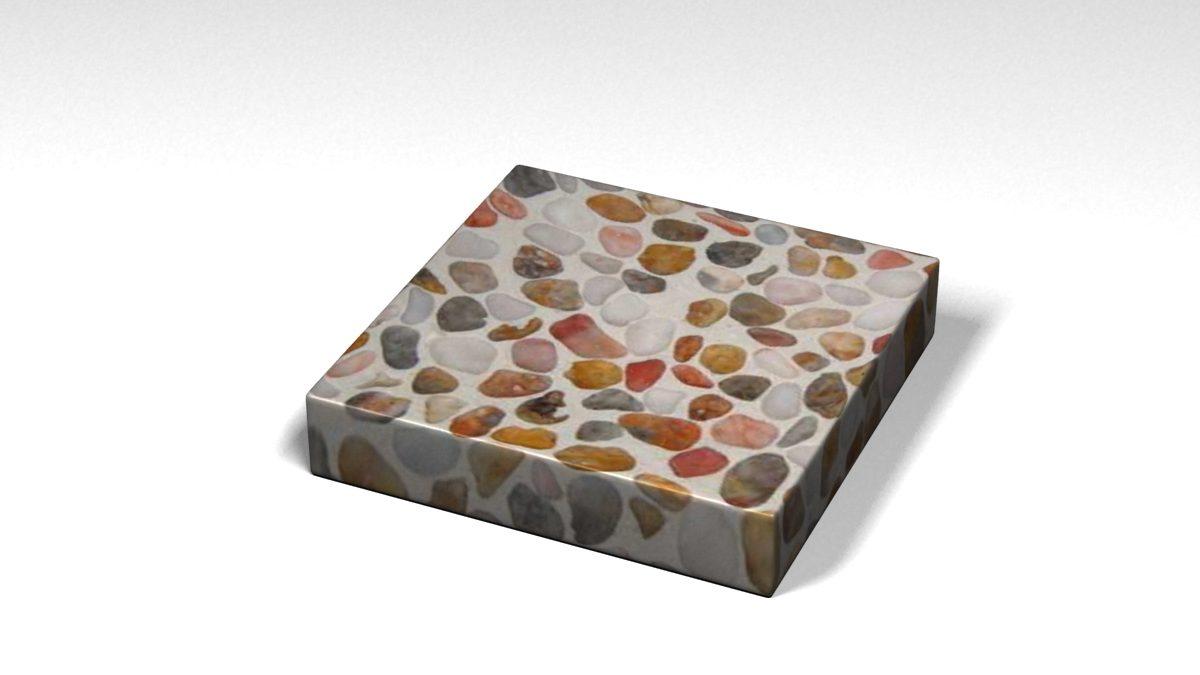 Mẫu đá Terrazzo trong Bộ Sưu Tập Terrazzo Đa Màu Sắc Mẫu BST-Colorful-Collection-TKTF-96
