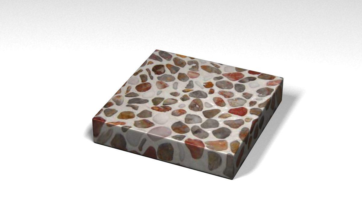 Mẫu đá Terrazzo trong Bộ Sưu Tập Terrazzo Đa Màu Sắc Mẫu BST-Colorful-Collection-TKTF-97