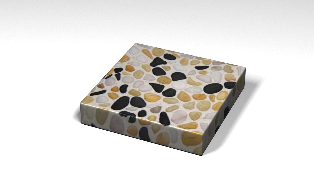 Mẫu đá Terrazzo trong Bộ Sưu Tập Terrazzo Đa Màu Sắc Mẫu BST-Colorful-Collection-TKTF-99