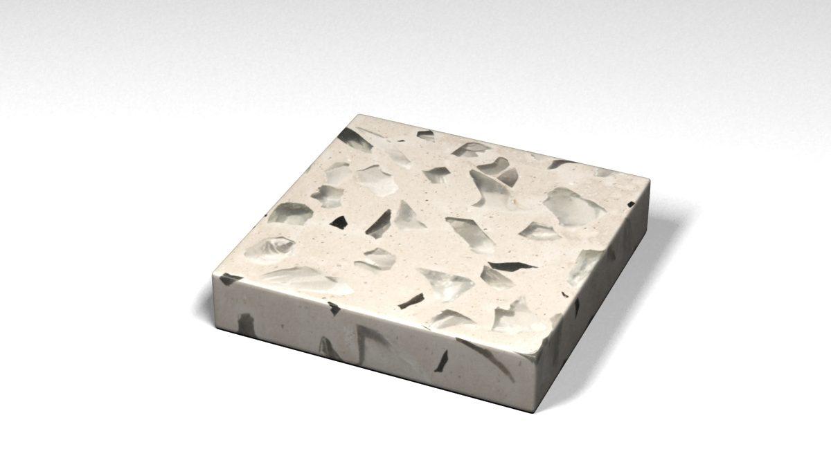 Mẫu đá Terrazzo trong Bộ Sưu Tập Terrazzo từ Kính Mẫu BST-Glass-Collection-TKTF-37