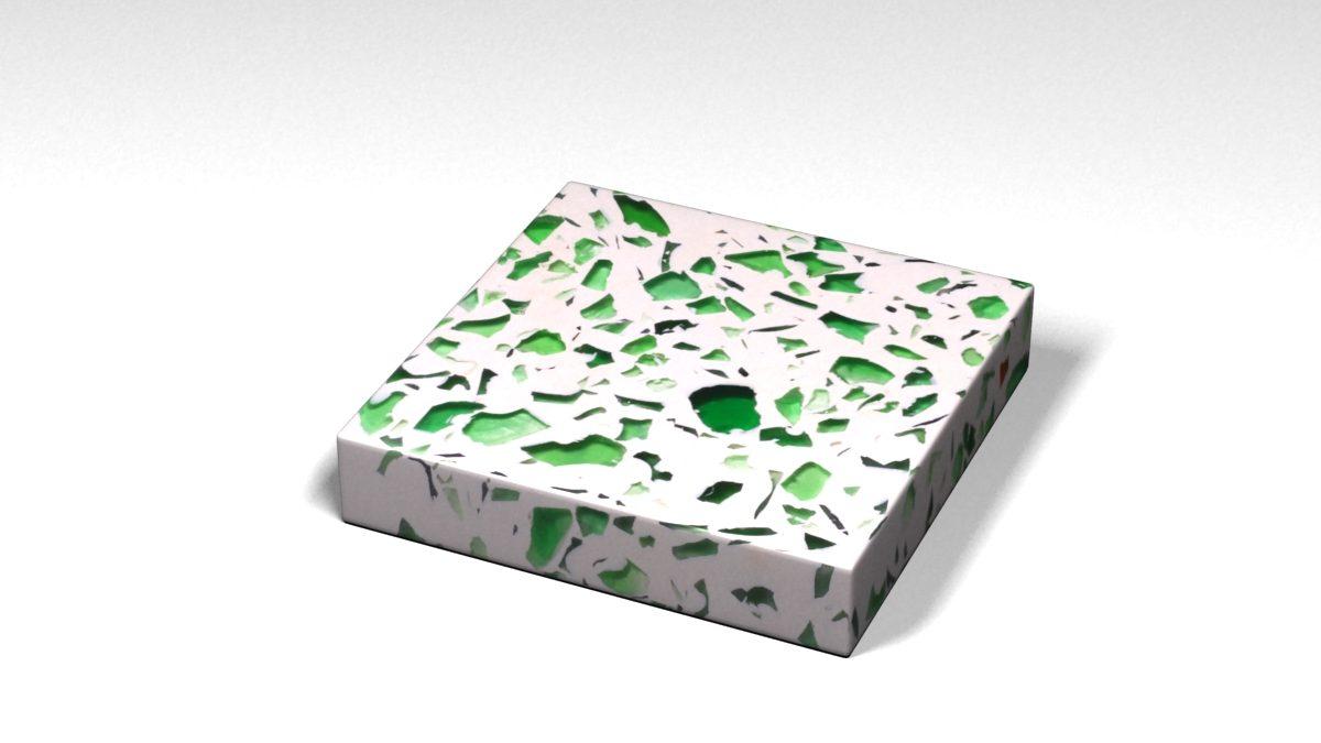 Mẫu đá Terrazzo trong Bộ Sưu Tập Terrazzo từ Kính Mẫu BST-Glass-Collection-TKTF-41