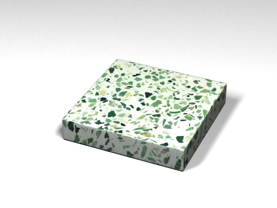 Mẫu đá Terrazzo trong Bộ Sưu Tập Terrazzo từ Kính Mẫu BST-Glass-Collection-TKTF-43