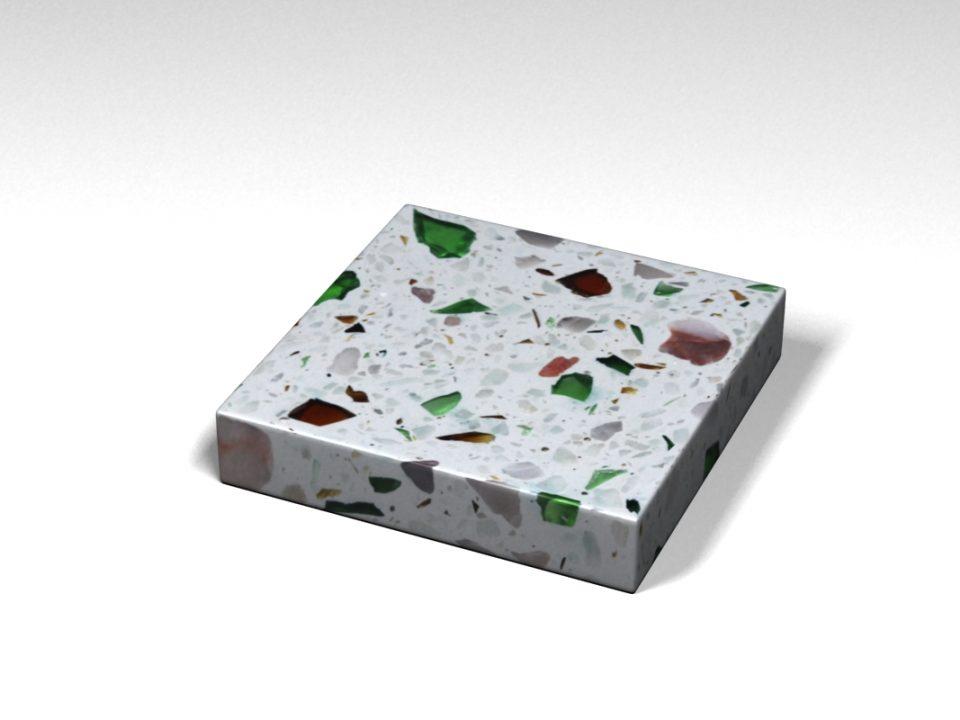 Mẫu đá Terrazzo trong Bộ Sưu Tập Terrazzo từ Kính Mẫu BST-Glass-Collection-TKTF-45