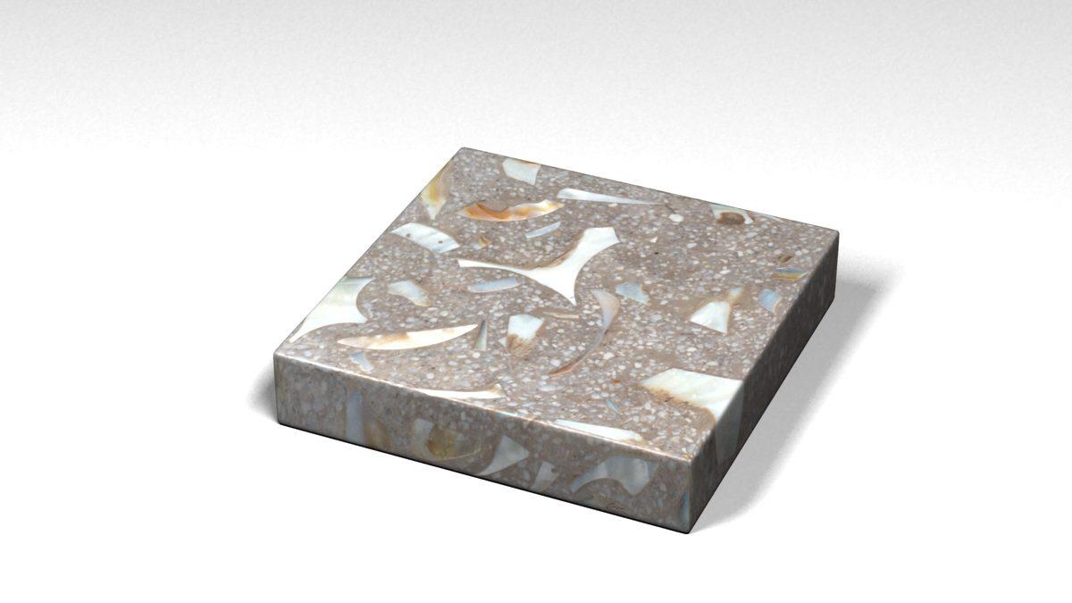 Mẫu đá Terrazzo trong Bộ Sưu Tập Terrazzo từ Biển Mẫu BST-Sea-Collection-TKTF-55