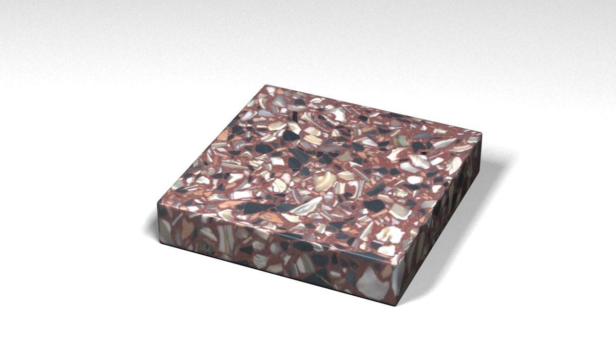 Mẫu đá Terrazzo trong Bộ Sưu Tập Terrazzo từ Biển Mẫu BST-Sea-Collection-TKTF-58