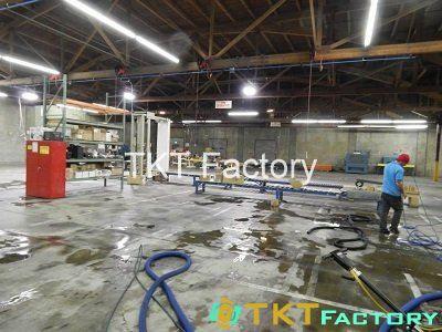 dọn dẹp nhà xưởng sau mỗi ca sản xuất