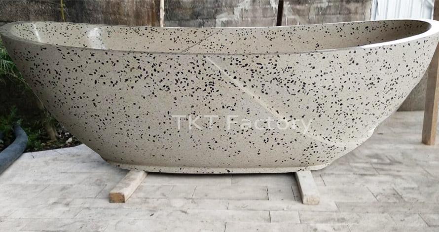 bồn đá Terrazzo mẫu độc đáo