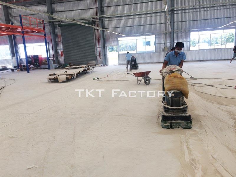 Dịch vụ mài nền bê tông của TKT Factory