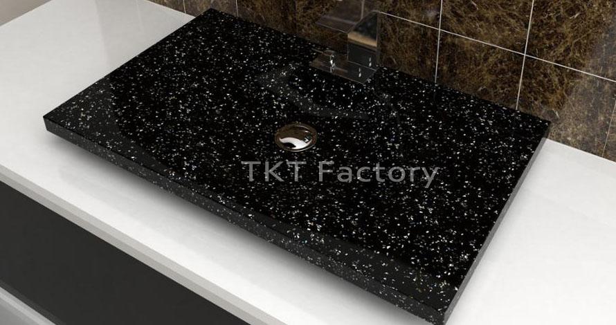 Hình ảnh: Mẫu bồn rửa tay, rửa mặt hay Lavabo (basin, sink) Terrazzo Mẫu LBTKT-16
