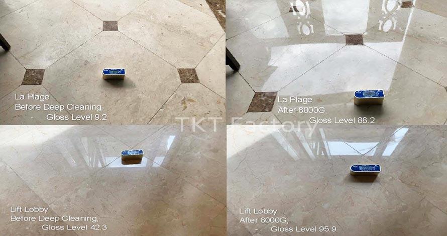 Phục hồi sàn đá Marble tại Sheraton Đà Nẵng