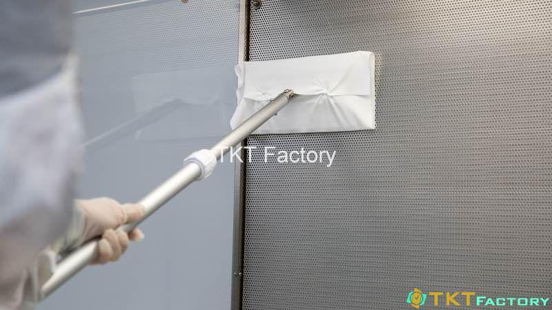 vệ sinh cơ sở sản xuất