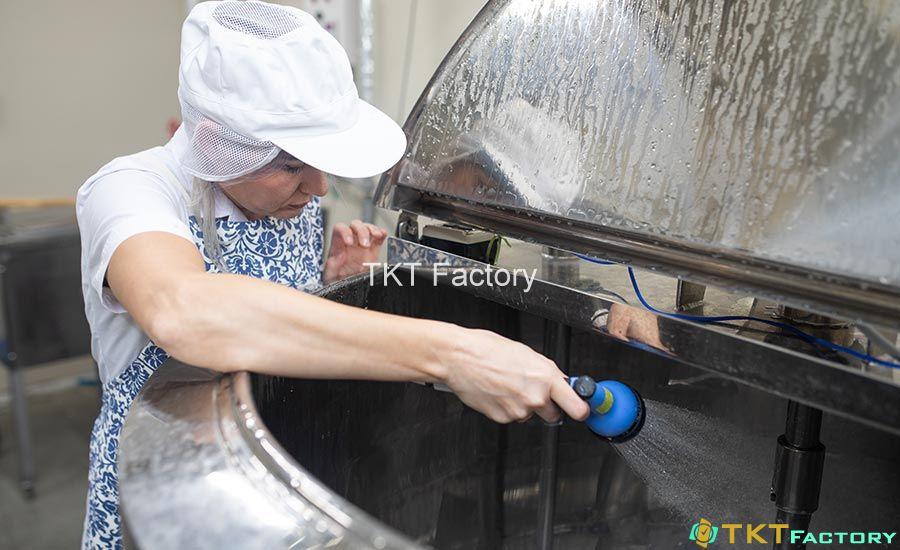 vệ sinh thiết bị bồn chứa, tăng (tank) chứa
