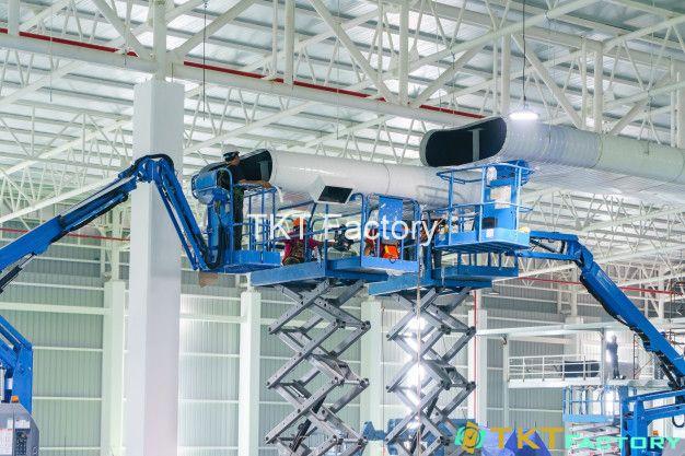 vệ sinh hệ thống thông gió nhà máy